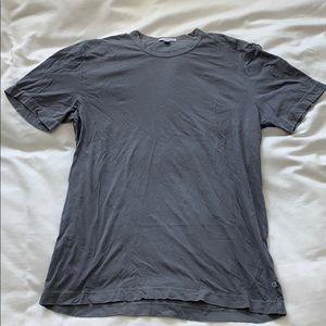 JAMES PERSE men's blue/grey T-shirt